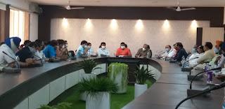 जिला आपदा प्रबंधन समूह की बैठक में 22 अप्रैल तक लाकडाउन बढ़ाने का हुआ निर्णय