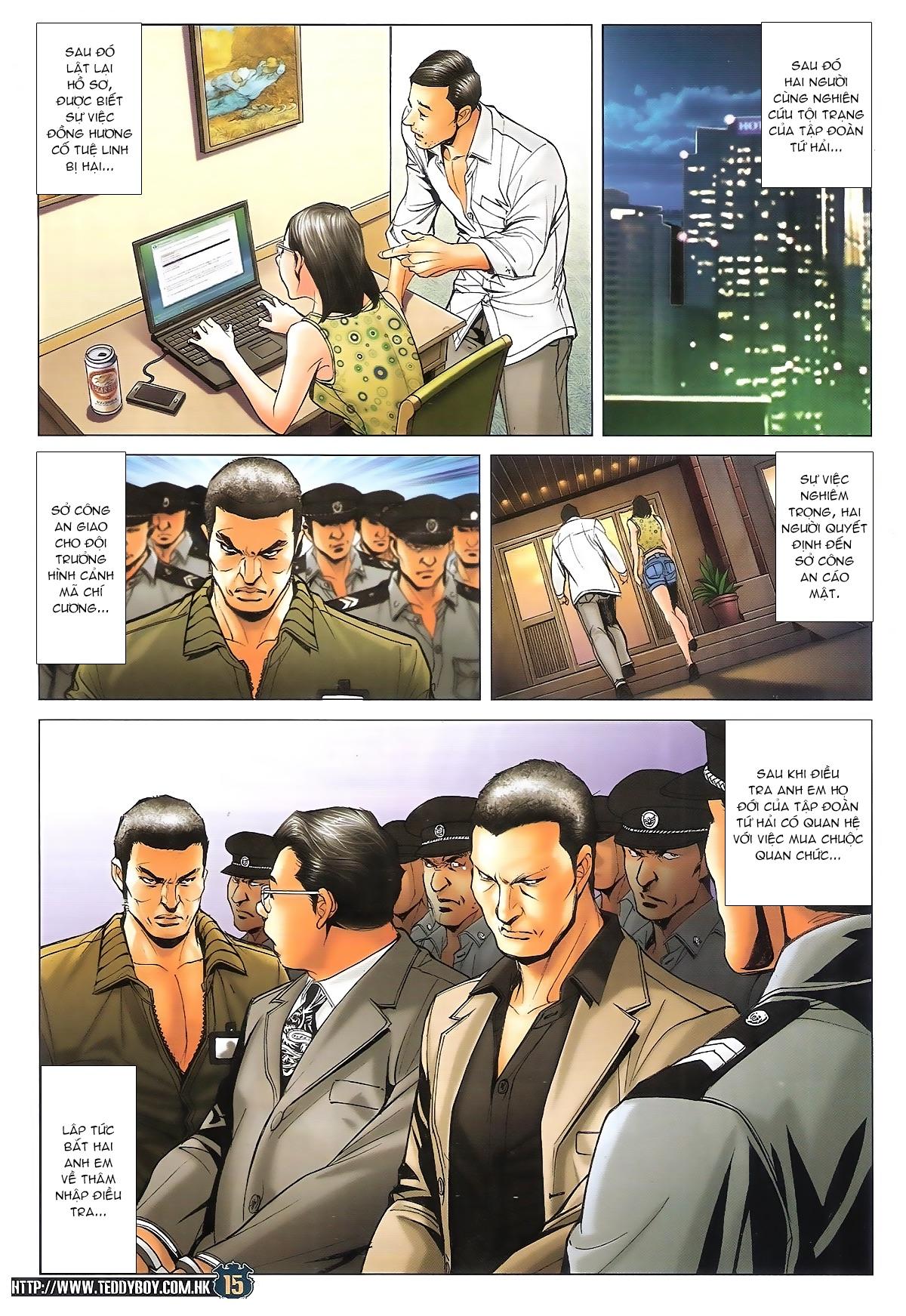 Người Trong Giang Hồ chapter 1706: kịch chiến trang 14