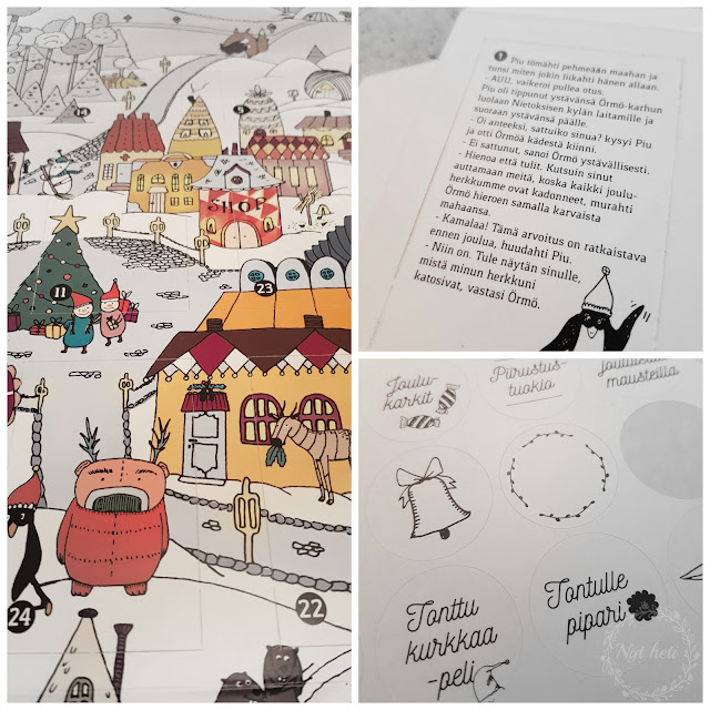 Tarina joulukalenteri