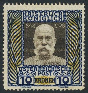 Austria 1908, 10k Franz Joseph