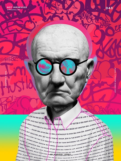 "por Magdiel Lopez, ""Not Impressed"" 