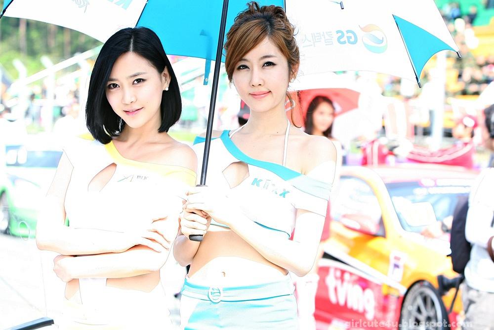 xxx nude girls: Hwang Mi Hee, CJ Super Race R2 2011