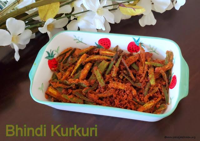 images of Bhindi Kurkuri / Crispy Bhindi / Crispy Okra / Kurkuri Bhindi