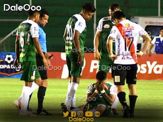 Daniel Rojas sufrió un esguince de segundo grado en el partido entre Oriente Petrolero y Always Ready - DaleOoo