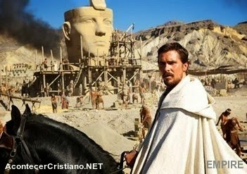 Christian Bale interpreta a Moisés