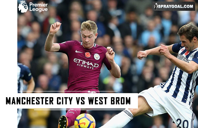 Prediksi Skor Manchester City vs West Brom