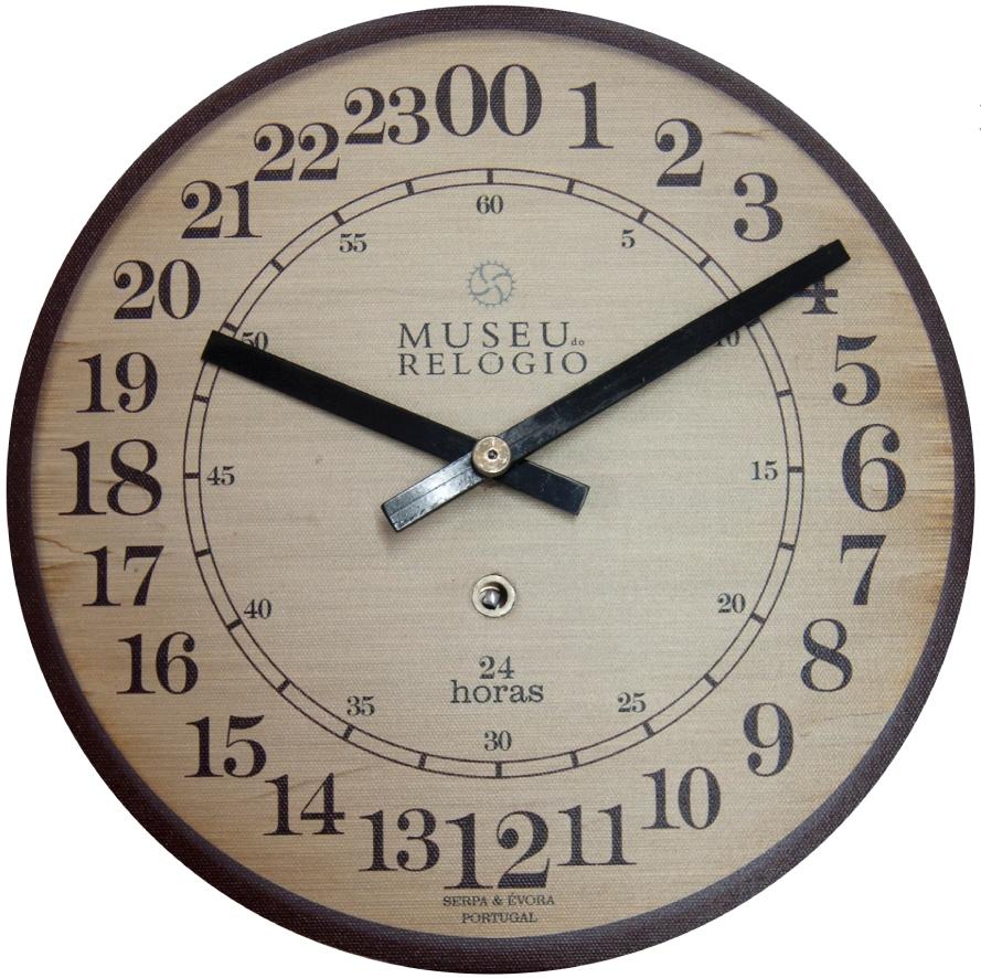 72896f7dd63 O Museu do Relógio lança esta semana o seu primeiro relógio de parede