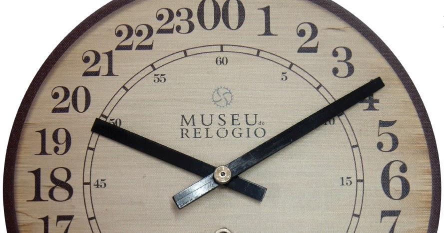 59431cb7bea Estação Cronográfica  Museu do Relógio lança exemplar de parede