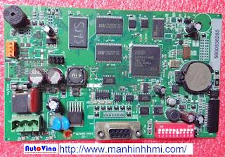 Công ty Auto Vina sửa chữa main màn hình HMI Hitech 5.7 inch PWS5600S-S