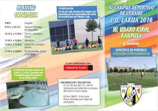 Abierta inscripción para el IV Campus de Verano 2016
