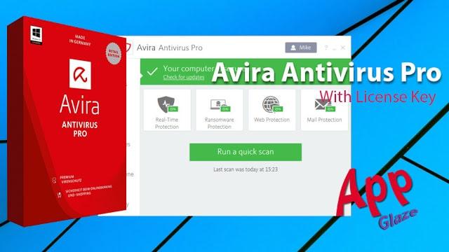 Avira Antivirus Pro 15.0.2005.1882 with License Key For Windows PC