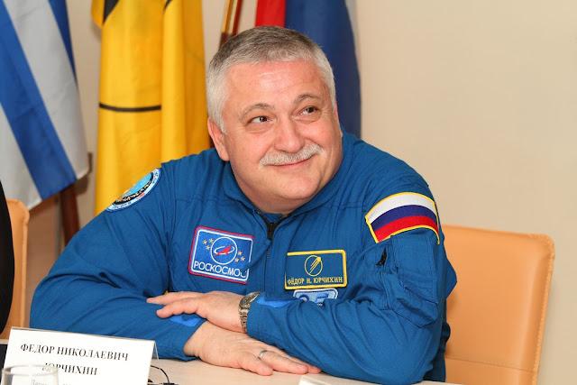 Ο Πόντιος κοσμοναύτης Φ. Γιουρτσίχιν ετοιμάζεται για εξάωρο διαστημικό περίπατο