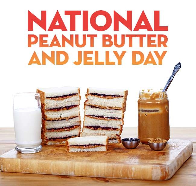 National Peanut Butter and Jelly Day Wishes Pics