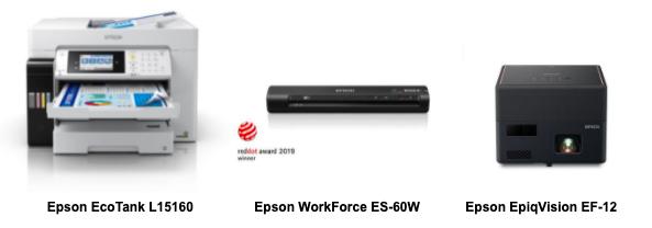 Epson's Range of Sustainable Products