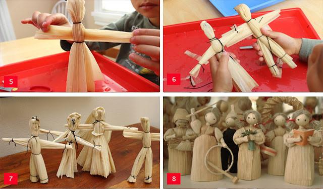 Boneka dari Kulit Jagung