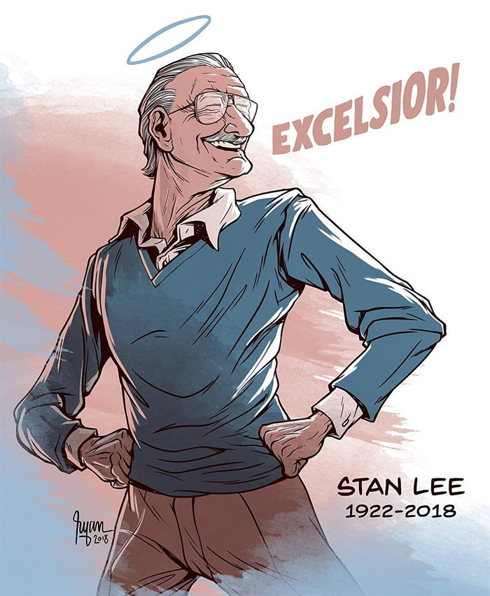 ilustraciones-tributo-honor-leyenda-comic-stan-lee