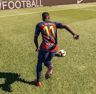 PES 2019 Blue Sky Gameplay by Turin82