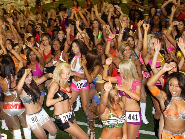 Texas Cheerleader Tryouts 2011
