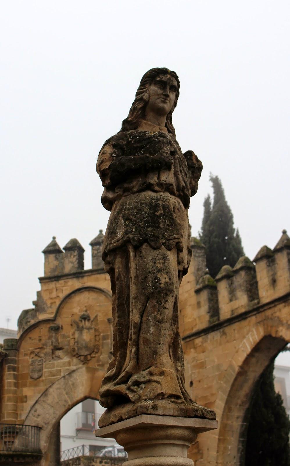 Estatua Ibero romana en Baeza