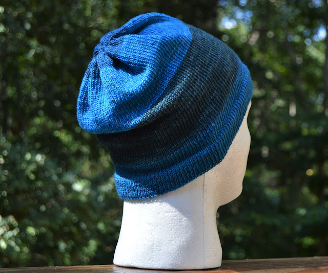 Participating in the 52 hats challenge where I knit 52 hats in a year.
