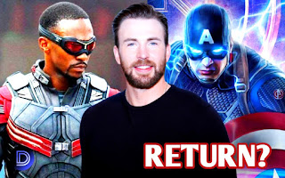 Falcon Star Anthony Mackie reacted To Chris Evans Captain America Returning