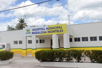 Jornal Destak Agora: ANAPURUS: O HOSPITAL MUNICIPAL MADALENA ...