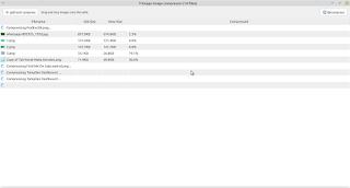 proses kompresi gambar di linux mint