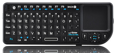 Buy Mini Bluetooth Keyboard & TouchPad With Laser Pointer Online In Pakistan