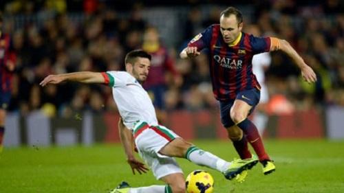 Andres Iniesta không còn nhận được sự kỳ vọng của người hâm mộ