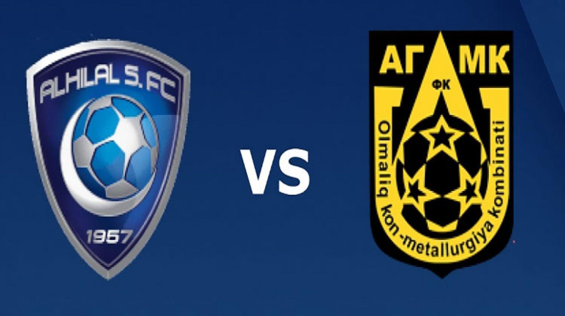بث مباشر مشاهدة مباراة الهلال السعودي ضد أجمك الأوزبكستاني