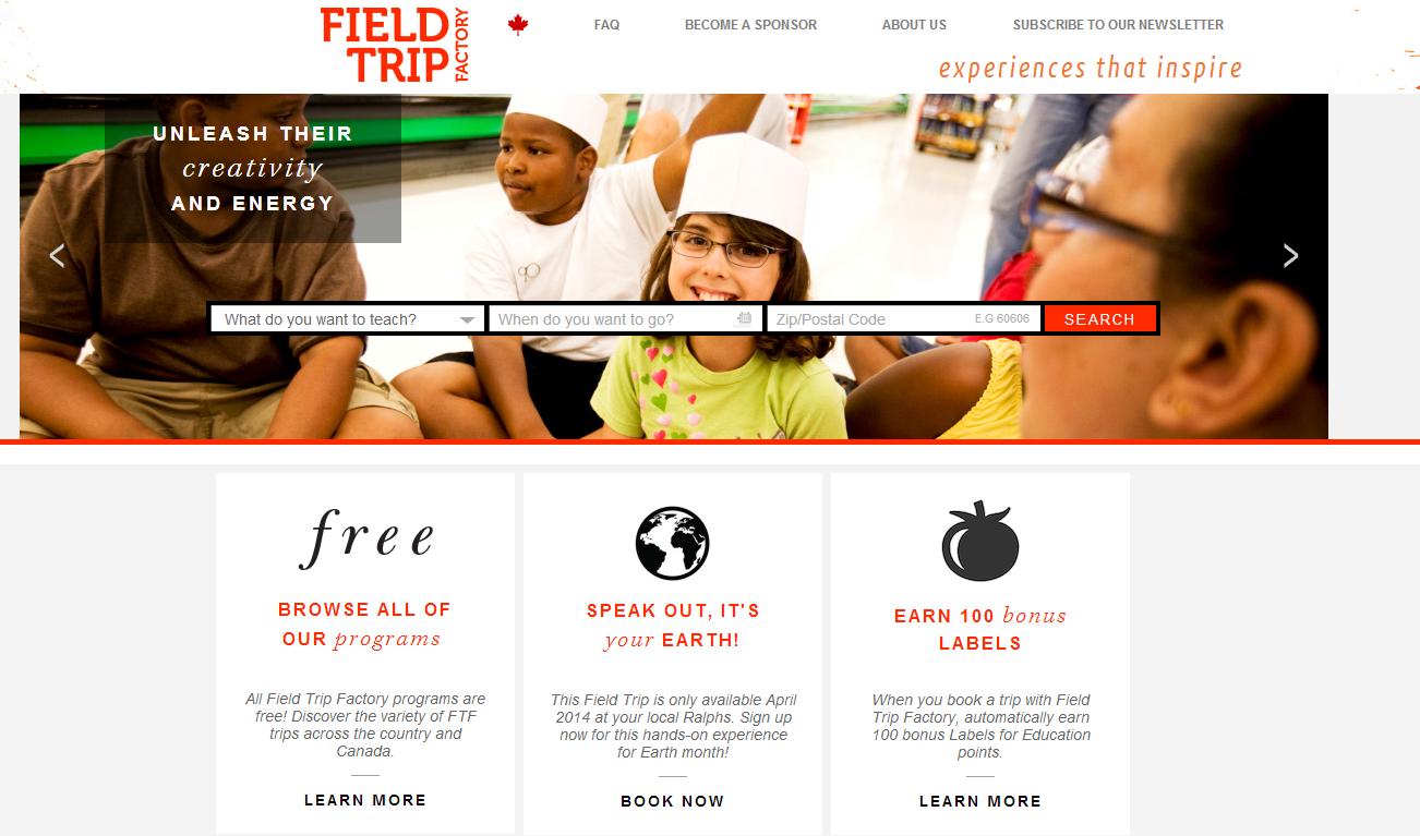 Field Trip Factory - Free field trips!