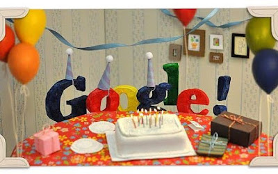 Hari Ulang Tahun Google Ke-18