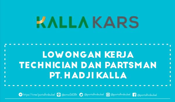 lowongan-kerja-technician-partsman-pt-hadji-kalla