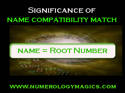 benefits of name compatibility match