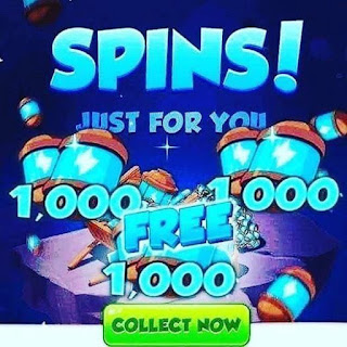 Spin Links for geting free spins and coins bonus from daily links In Coin master