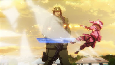 Sword Art Online Alternative - Gun Gale Online Episode 4 Subtitle Indonesia