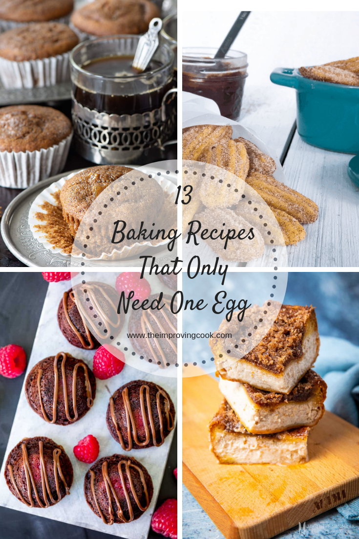 13 Baking Recipes That Only Need One Egg