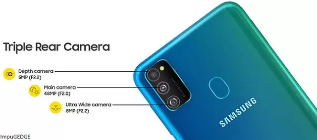Sumsung Galaxy M30s Camera