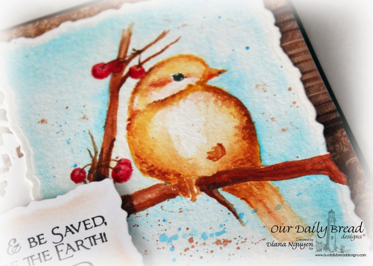 Diana Nguyen, Chickadee, Scripture, Our Daily Bread Designs, ODBD, card
