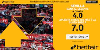 betfair supercuota Sevilla gana Levante 20-10-2019