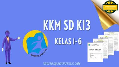 Dalam rangka melengkapi perangkat pembelajaran Pendidikan Agama Islam dan Budi Pekerti  Download KKM PAI K13 SD Kelas 1- 6 Revisi Terbaru