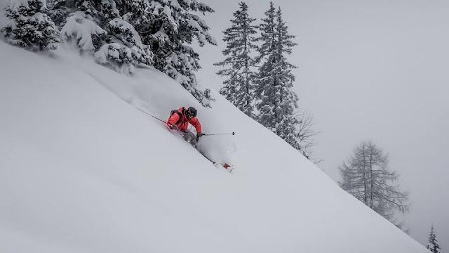 Schneefall Neuschneemengen Kitzbühel Januar 2019