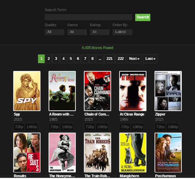 YIFY YTS Torrent Proxy Unblock YTS Movies Mirror Sites and Alternatives