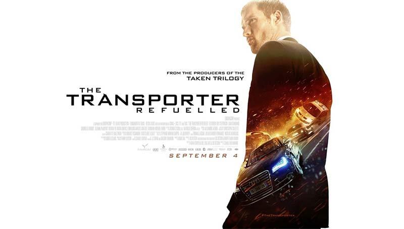 The Transporter Refueled 2015 Hindi 720p BluRay Dual Audio Movie Poster