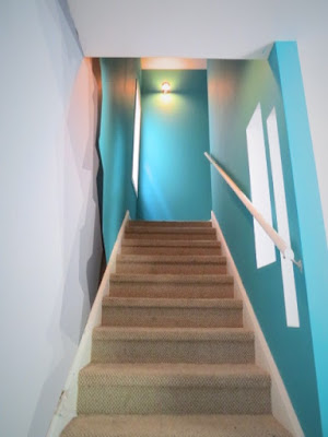 paint stair carpet