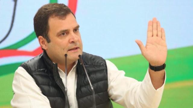 विकास रहित 100 दिन के लिए मोदी सरकार को बधाई : राहुल गांधी - newsonfloor.com