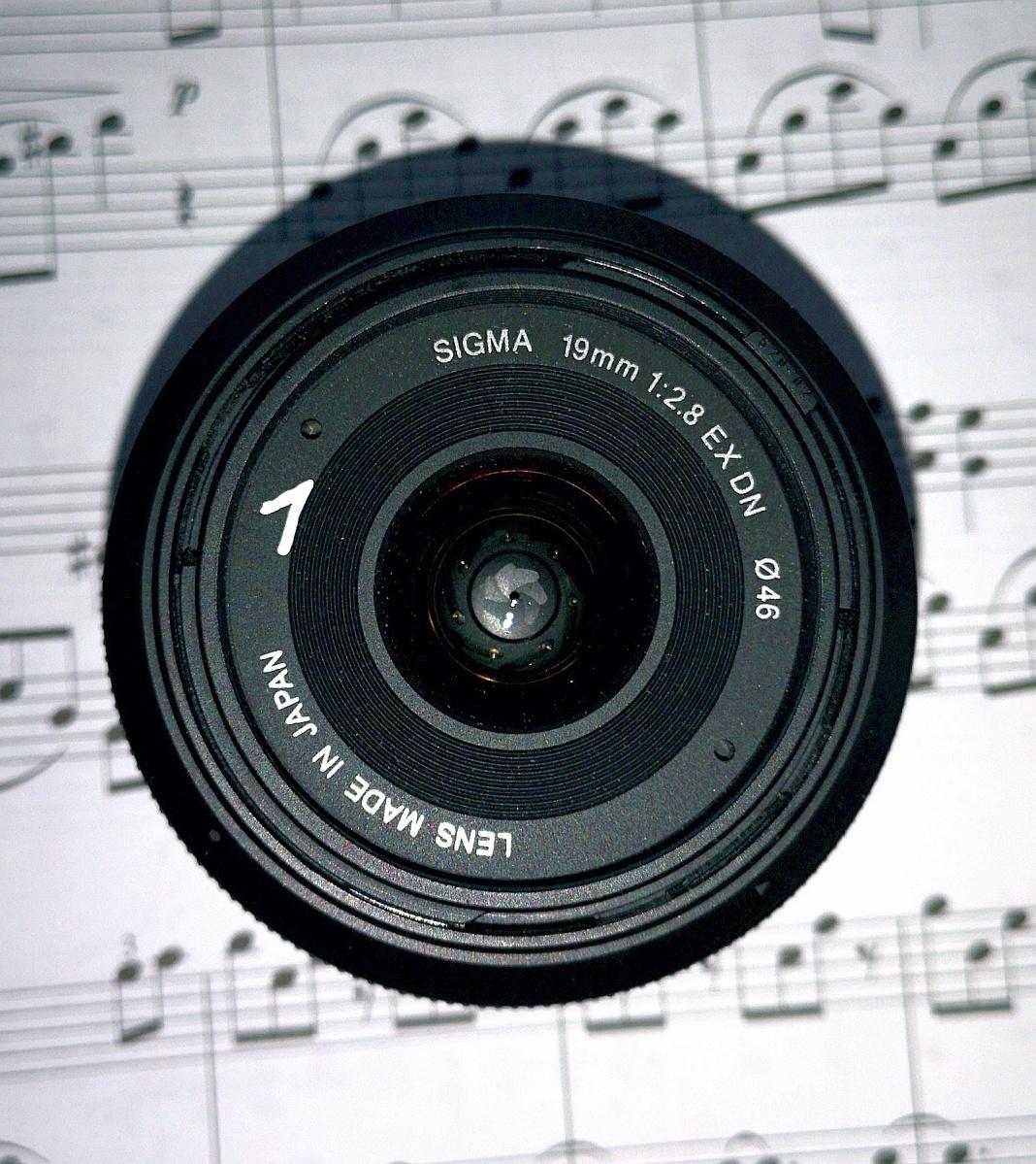 #001 SIGMA 19mm 1:2.8 EX DN ∅46 19 1:2.8 EX DN E - Objektivvorstellung