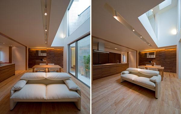 hogares frescos arquitectura japonesa moderna casa u3