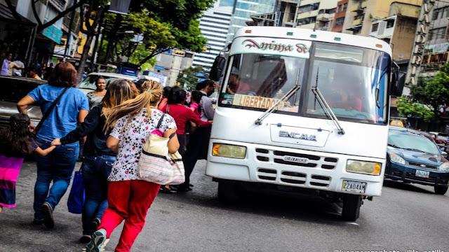 Conflicto entre transportistas y régimen: el pasaje amaneció en Bs 1.500 en algunas rutas de Caracas