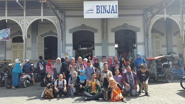 BlogM Durian naik Kereta Api ke Binjai